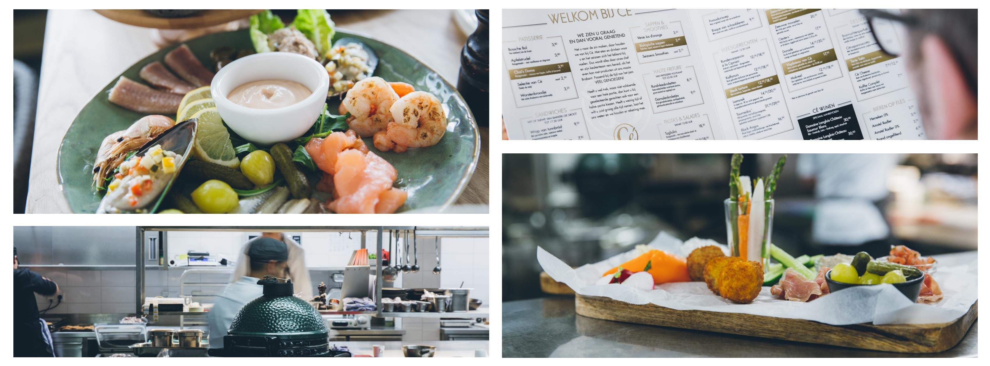 Groepen | Gerechten Cé Brasserie keuken bittergarnituur