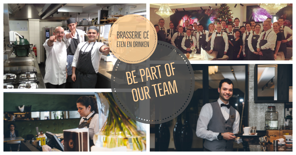 Team Brasserie Cé - Golden Tulip Hotel Central